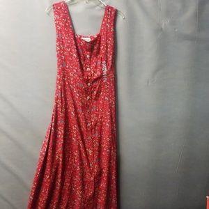 Summer button up Dress